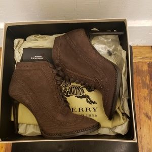 Burberry Brogue Gairloch Ankle Booties
